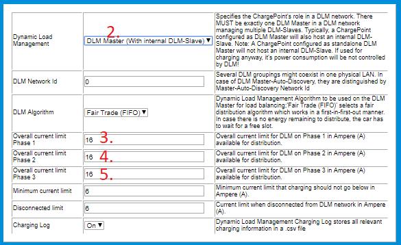 Configure Advanced Dynamic Load Management - Ensto EV Wiki